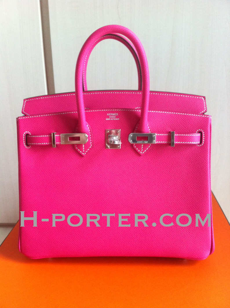 ab580eb60b8c Hermes Candy Birkin 25 in Rose Tyrien Rubis interior. Epsom leather.  -Please enquire for pricing-. SOLD. Detailed pictures here